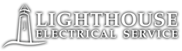 Lighthouse Electrical Service logo and homepage link